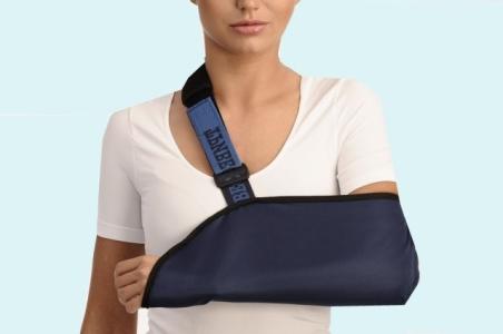 8053_1 Показания к применению бандажа на плечевой сустав (косынка)