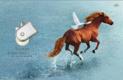 Voyage-Hermes-ad-print-B Парфюм Вояж (Voyage d`Hermes) для активных и энергичных людей