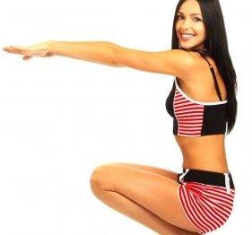 110 Упражнение для похудения: подробно и эффективно
