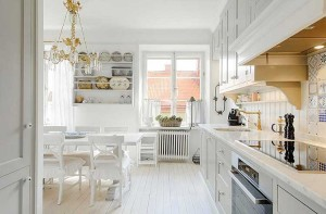 white-1-300x197 Фэн-шуй: Освещение кухни в стиле фэн-шуй