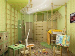 sportivnij-interer-detskoj-spalni-dlja-malchika-300x225 Детская комната для мальчика: важные рекомендации