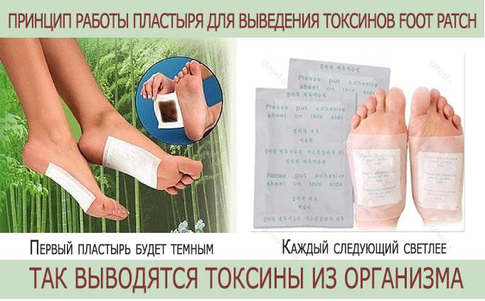 foot_patch_1111 Пластырь Foot Patch - очищение организма без лишних затрат и усилий