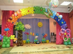 2-oformlenie-vozdushnyimi-sharami-dneropetrovsk-300x225 Оформляем детский праздник воздушными шарами